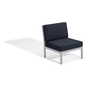 Travira Modular Side Chair - Midnight Blue