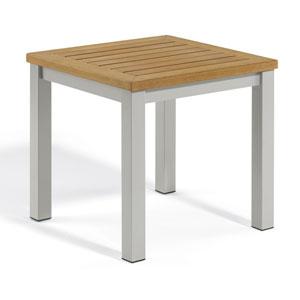 Travira Natural Tekwood End Table