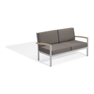 Travira Natural Tekwood Loveseat