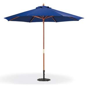 9-Ft. Navy Octagonal Polyester Market Umbrella