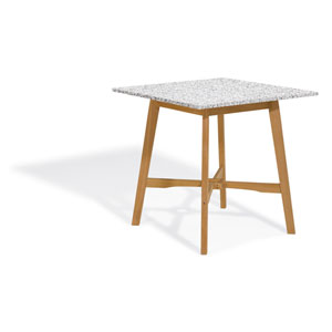Wexford 42-inch Bar Table - Natural Shorea - Lite-Core Granite Ash Top