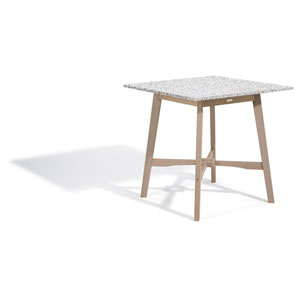 Wexford 42-inch Bar Table - Grigio Shorea - Lite-Core Granite Ash Top