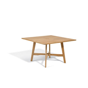 Wexford Natural Shorea 48-Inch Dining Table
