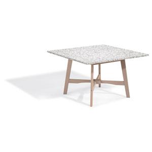 Wexford 48-inch Dining Table - Grigio Shorea - Lite-Core Granite Ash Top