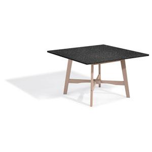 Wexford 48-inch Dining Table - Grigio Shorea - Lite-Core Granite Charcoal Top