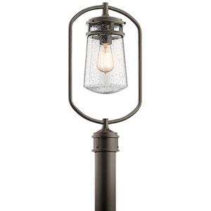 AspenHill Architectural Bronze One-Light Outdoor Post Lantern
