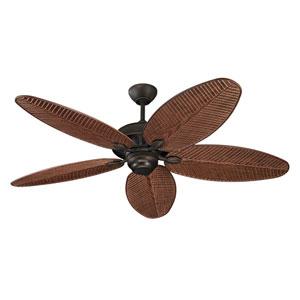 Lauderdale Roman Bronze 52-Inch Outdoor Ceiling Fan