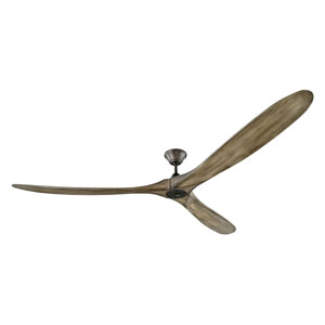 Turner Super Max Aged Pewter 88-Inch Ceiling Fan