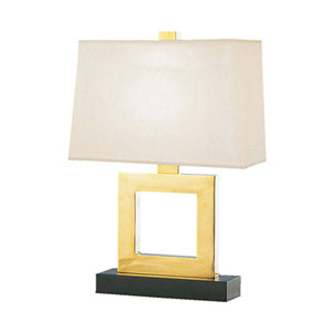 Adams Antique Brass 21-Inch One Light Table Lamp