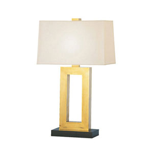 Adams Antique Brass 30-Inch One Light Table Lamp
