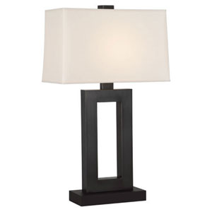 Adams Deep Patina Bronze 30-Inch One Light Table Lamp