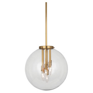 Jude Antique Brass Six-Light Pendant