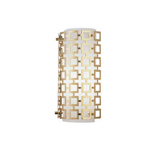 Prescott Antique Brass One-Light Sconce