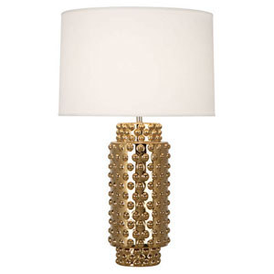 Cypress Polished Gold 28-Inch One Light Table Lamp