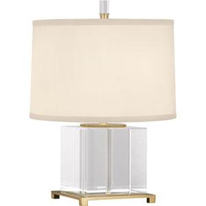 Norris Modern Brass One-Light Table Lamp