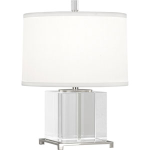 Norris Polished Nickel One-Light Table Lamp