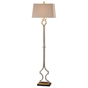 Brooks Gold Leaf Floor Lamp