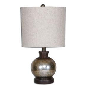 Rhodes Antiqued Mercury Glass Table Lamp