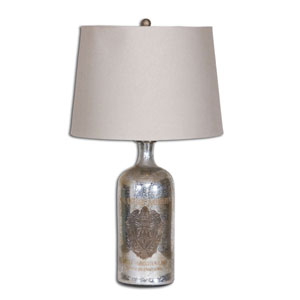 Miller Antiqued Mercury Glass Table Lamp