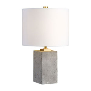 Calvin Concrete Block Table Lamp