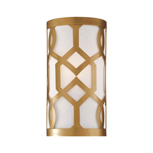 Darling Aged Brass One-Light Wall Sconce