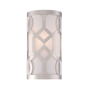Darling Polished Nickel One-Light Wall Sconce