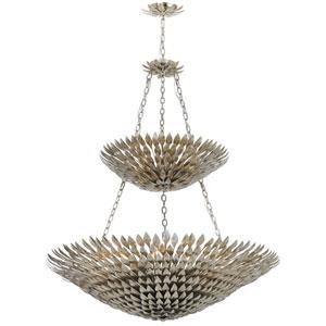 Rosemary Antique Silver Eighteen-Light Chandelier