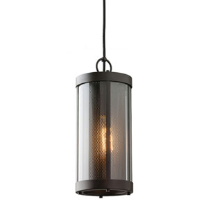 Wynne Rubbed Bronze One-Light Mini Pendant