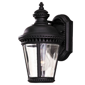 Augustus Black One-Light Outdoor Wall Mount
