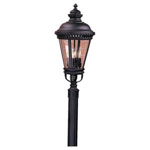 Augustus Black Four-Light Outdoor Post Mount