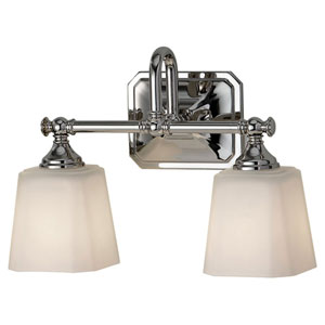 Bristow Polished Nickel Two-Light Vanity