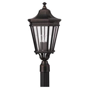 Lafayette Bronze Nine-Inch LED Outdoor Post Mount
