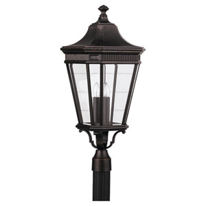 Lafayette Bronze 12-Inch LED Outdoor Post Mount