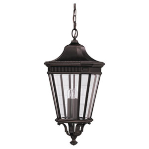 Lafayette Bronze 12-Inch LED Outdoor Pendant