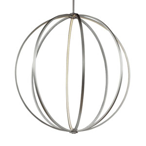 Luminarian Satin Nickel 48-Inch LED Pendant