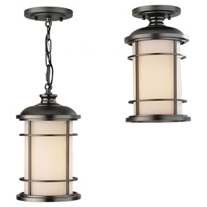 Rhett Bronze One-Light Outdoor Pendant