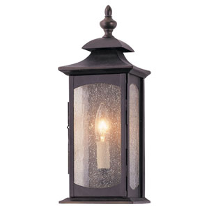 Kahler Rubbed Bronze One-Light Outdoor Wall Mount