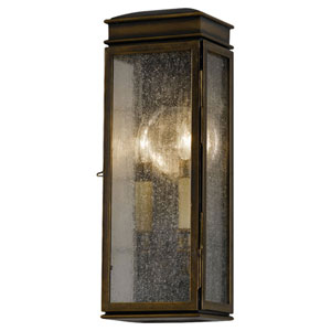 Thames Bronze Two-Light Outdoor Wall Mount