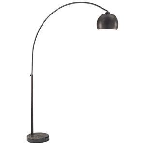 Nova Bronze One-Light Arc Floor Lamp