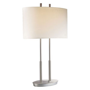 Callie Brushed Nickel Table Lamp