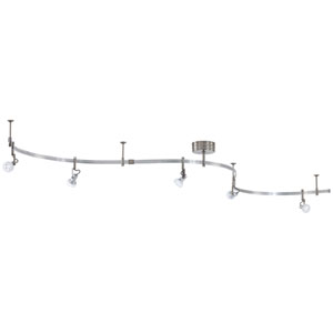 Nile Silver LED Monorail Track Light