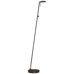 Apothecary Copper Bronze LED Floor Lamp