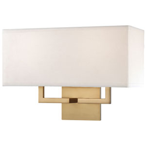 Etta Gold Two-Light Wall Sconce