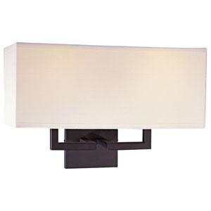 Etta Bronze Two-Light Wall Sconce