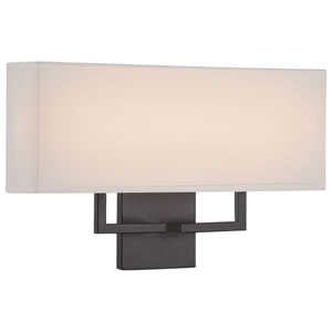 Etta Bronze 17-Inch LED Wall Sconce