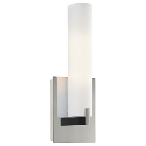 Echo Brushed Chrome Two-Light Bath Sconce