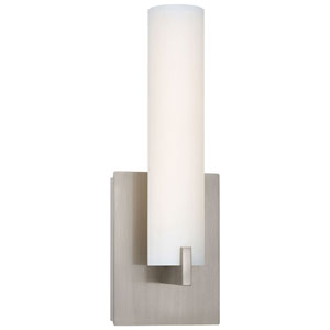 Echo Brushed Nickel LED Bath Sconce