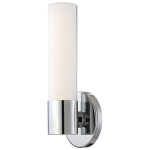 Stella Polished Chrome LED Bath Sconce