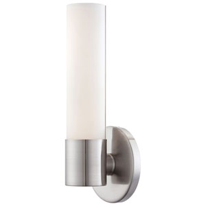 Stella Brushed Nickel LED Bath Sconce