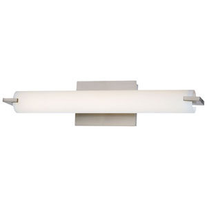 Echo Brushed Nickel 20-Inch LED Vanity